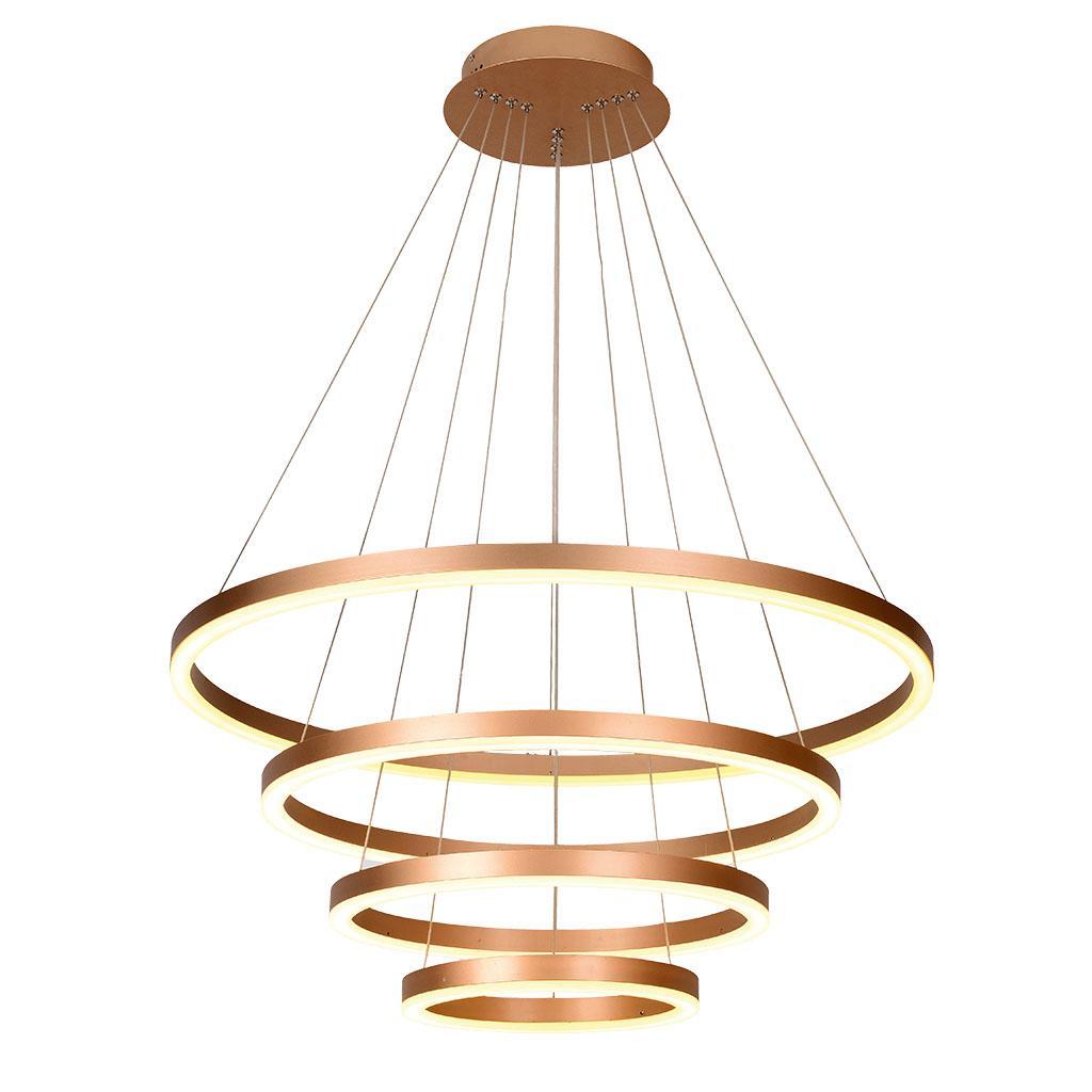 WOFI FREYA Joustava kiinnitys 21W LED Kromattu A ripustettava valaisin
