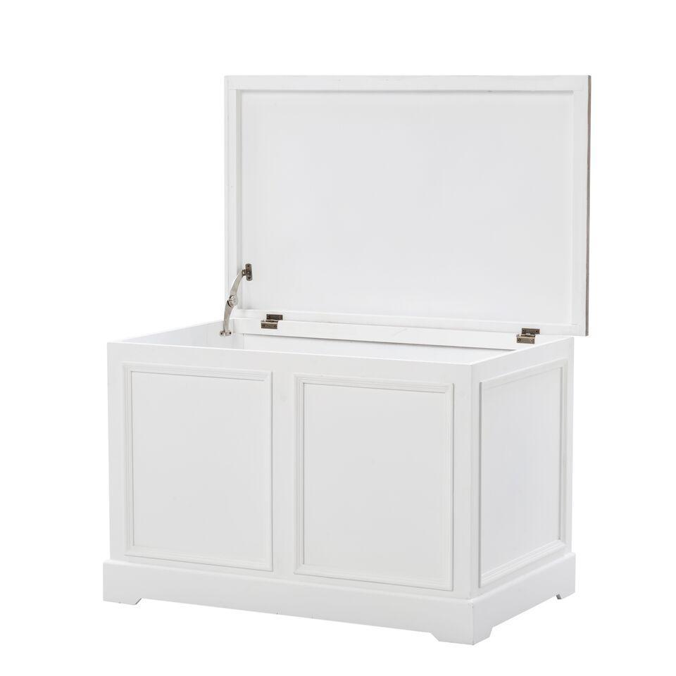 Arkkupöytä Valkoinen